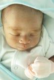 behandla som ett barn den gulliga sova vektorn Royaltyfri Bild