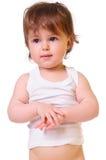 behandla som ett barn den gulliga ståenden Royaltyfria Foton