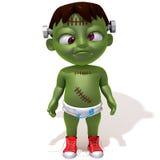 Behandla som ett barn den Jake Frankenstein 3d illustrationen Royaltyfri Bild