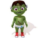 Behandla som ett barn den Jake Frankenstein 3d illustrationen Royaltyfria Bilder