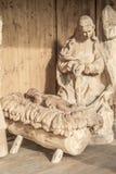 behandla som ett barn den jesus madonnaen Arkivbild