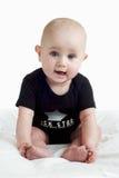 behandla som ett barn den lyckliga flickan little Royaltyfria Bilder