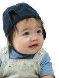 behandla som ett barn den lyckliga pojken Royaltyfria Foton