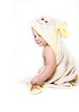 behandla som ett barn det gulliga badet Royaltyfri Fotografi