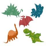 Behandla som ett barn dinosaurier Royaltyfria Foton