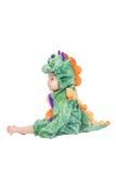 Behandla som ett barn Dragon Costume Fotografering för Bildbyråer