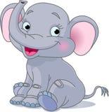 behandla som ett barn elefanten Royaltyfria Foton