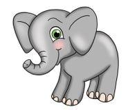 behandla som ett barn elefanten Royaltyfri Bild