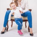 behandla som ett barn första s-moment Royaltyfri Fotografi