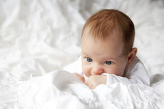 behandla som ett barn fött nytt Royaltyfria Foton