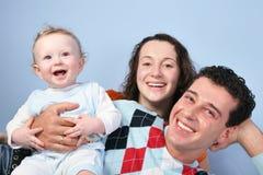 behandla som ett barn familjen royaltyfri foto