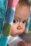 behandla som ett barn filten Fotografering för Bildbyråer