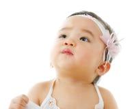 behandla som ett barn flickan Royaltyfri Fotografi