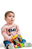 Behandla som ett barn fotografi Royaltyfri Fotografi