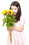 Behandla som ett barn fotostudion Royaltyfria Bilder