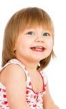 behandla som ett barn gammala två år för flickan Royaltyfri Foto