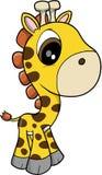 behandla som ett barn giraffvektorn royaltyfri illustrationer