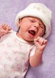 behandla som ett barn gråten Fotografering för Bildbyråer