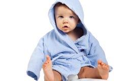 behandla som ett barn gullig rolig isolerad white för pojken Royaltyfria Foton