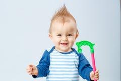 behandla som ett barn härligt little Royaltyfri Fotografi