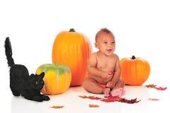 behandla som ett barn halloween Royaltyfri Bild