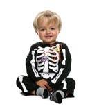 behandla som ett barn halloween Arkivbild