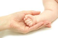 behandla som ett barn handen Royaltyfri Bild