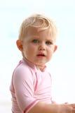 Behandla som ett barn i pink Royaltyfri Fotografi