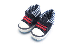 behandla som ett barn isolerade skor Royaltyfri Fotografi