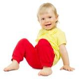 behandla som ett barn isolerat little Fotografering för Bildbyråer
