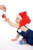 behandla som ett barn jul Arkivfoto