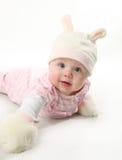 behandla som ett barn kaninen Royaltyfri Foto