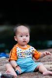 behandla som ett barn kinesen Royaltyfria Foton