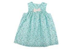 Behandla som ett barn klänningen Royaltyfri Foto
