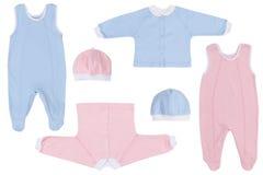 Behandla som ett barn kläder Royaltyfri Foto