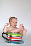 behandla som ett barn koppen Fotografering för Bildbyråer