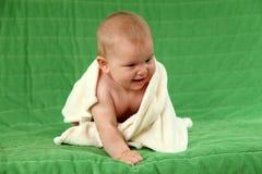 behandla som ett barn krypa gulligt Fotografering för Bildbyråer