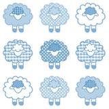 Behandla som ett barn Lambs vektor illustrationer