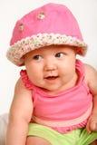 behandla som ett barn leendet Arkivbilder