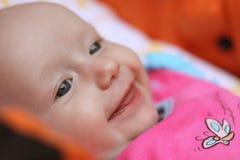 behandla som ett barn leendet Fotografering för Bildbyråer