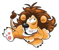 behandla som ett barn lionen Royaltyfri Foto