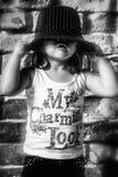 Behandla som ett barn lycklig tid Arkivbilder