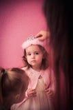 Behandla som ett barn lycklig tid Royaltyfria Bilder