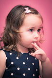 Behandla som ett barn lycklig tid Royaltyfri Bild
