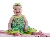 behandla som ett barn lyckligt le för flicka Royaltyfri Fotografi