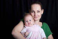 Behandla som ett barn med modern royaltyfri fotografi