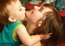 behandla som ett barn momen Fotografering för Bildbyråer