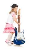 behandla som ett barn musiker Royaltyfri Bild