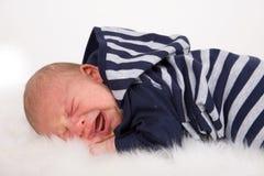 behandla som ett barn nyfött Royaltyfri Foto