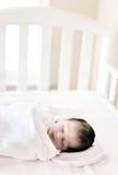behandla som ett barn nyfött Arkivbild